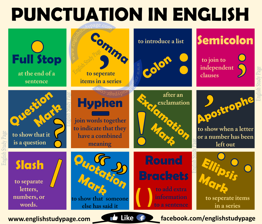 punctuation-in-english